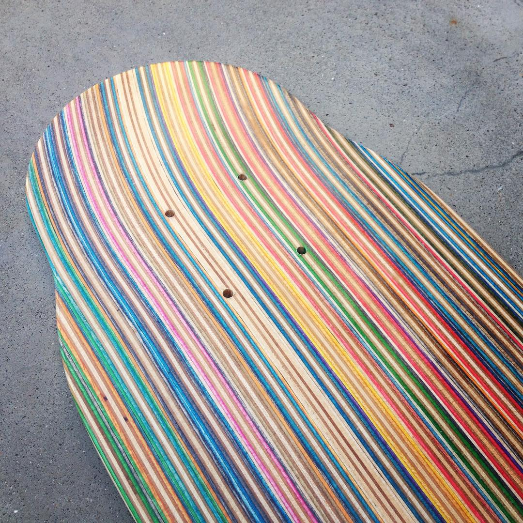 I've made over 500 Iris skateboards and I still marvel over every one. I feel honored knowing that these boards are being shredded and enjoyed. Thank you all!