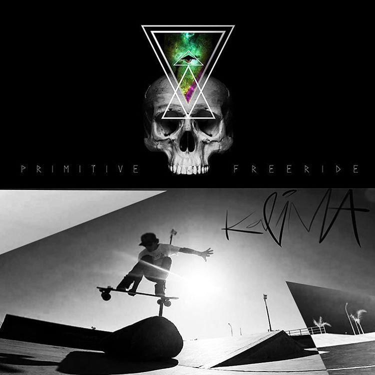 Kalima Primitive Rider: Ejem Black #kalimastreet #longboard