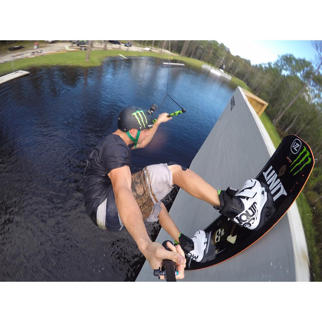 @kevinhenshaw getting a birds eye view at #Area52 with his @gopro #GoPro #liquidforceapparel #deluxe #vantagect