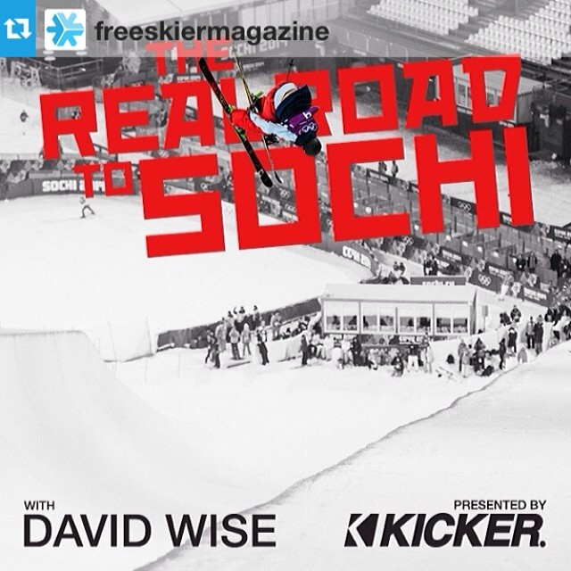 Check out The Real Road To Sochi: David Wise live now on freeskier.com @mrdavidwise #riderowned