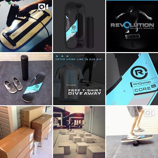 Happy Thursday and thanks for all the support! #revbalance #findyourbalance #balanceboards #madeinusa