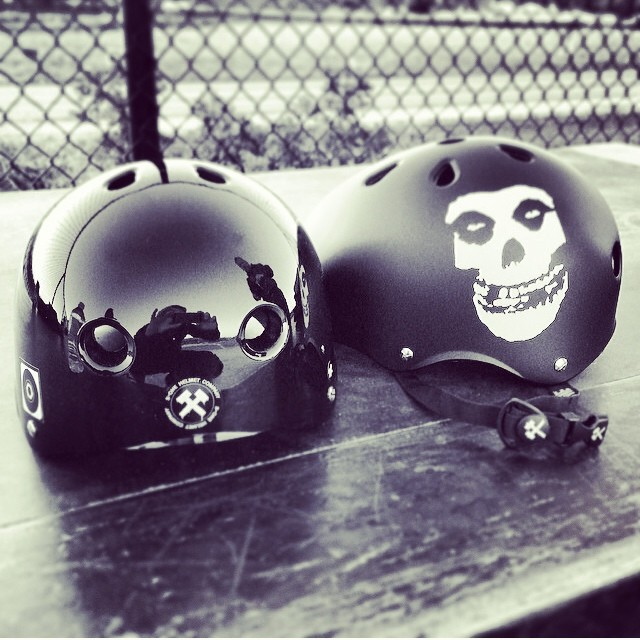 Regram @oldmanskatesesh hyped on #s1 #lifer #helmets . #skate4life