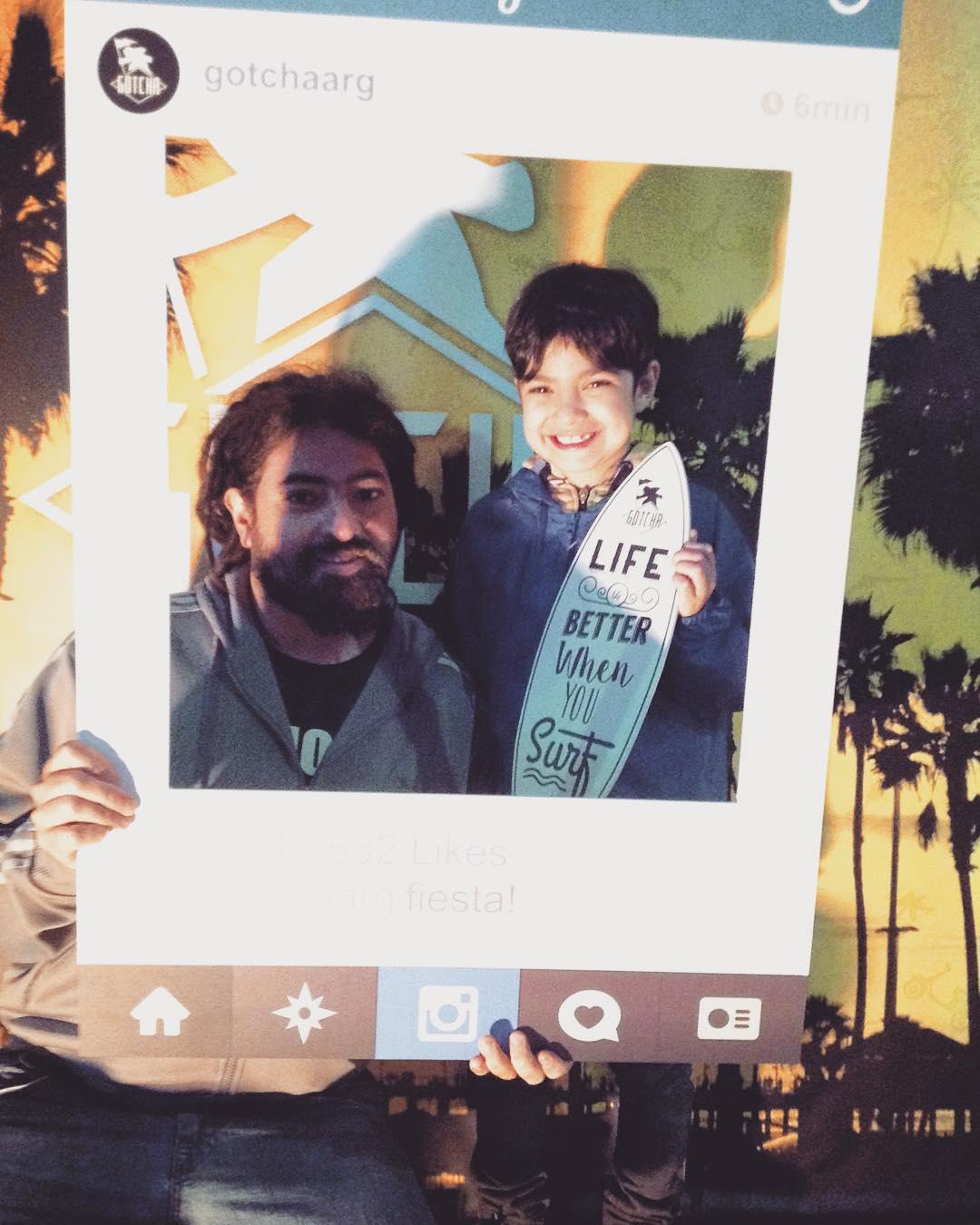 @chino5621 y Santino! #batero pasaron por @boardsandart #9 @gotchaarg