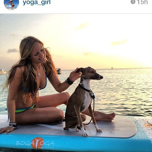Gorgeous Yoga Girl - Rachel Brathen- in Mi Ola. #miola #miolainaction #supyoga #sundayfunday