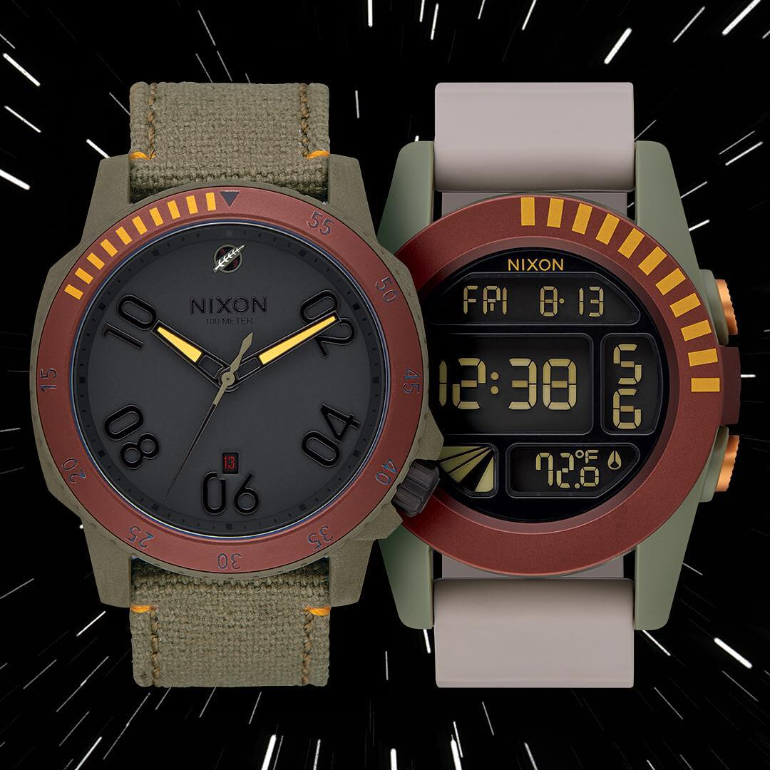 As you wish. The #BobaFett Collection. Available Now. @StarWars | #Nixon Dark Side Collection: Part 2 #TheForceAwakens #StarWars