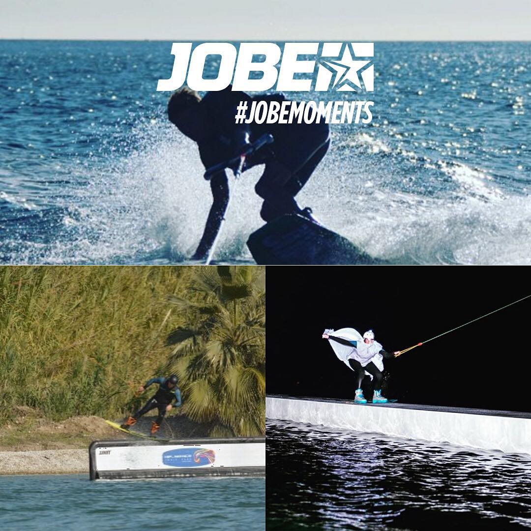 The Jobe family is going strong with these ultimate Jobemoments! Thanks for the great pictures @gffabrie @cerveraa1 & Halloween themed boarder @bbobbie: you definitely show us the love for watersports!  Share your unforgettable moments with #jobemoments!