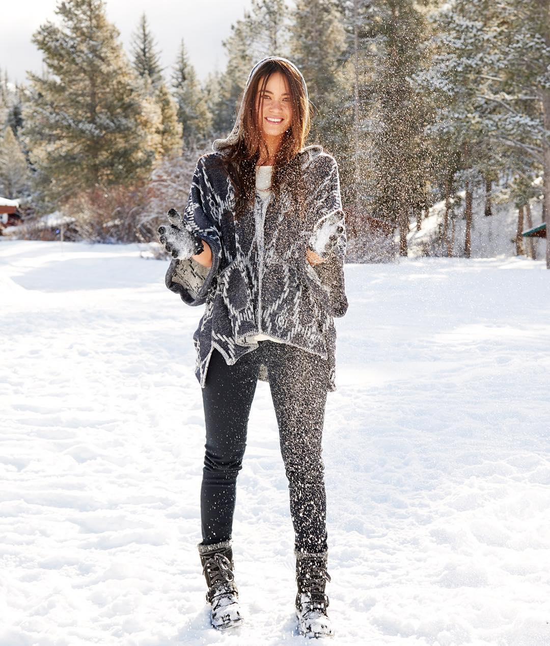 #ROXYready for Winter with cozy layers. @mariakuzma
