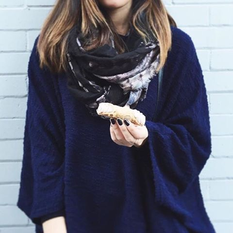 Fridays call for Sweets, Sweaters & Scarfs