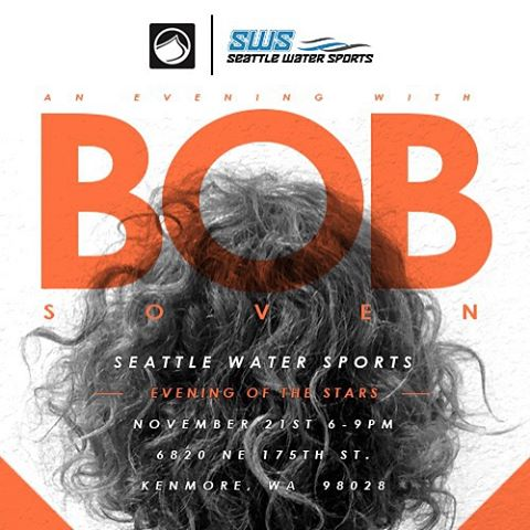 @bobsoven will be in Seattle this Saturday for Evening Of The Stars with @seattlewatersports!  Join us from 6-9pm!  #LFnAwesome