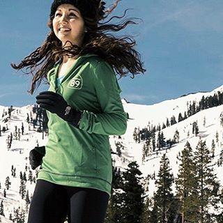 Let it snow, let it snow, let it snow... can't wait for more! ❄️ #CA89 #takeapeak
