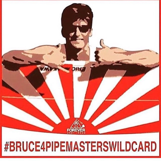 The only one that can give @BruceIrons a wildcard into the main event of the Pipe Masters is the @wsl. We would love to see Bruce in the main event of the Pipe Masters that is put on in memory of his brother. As a sponsor of the Pipe Masters, Billabong...