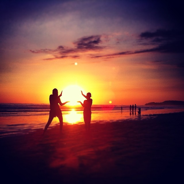 Did you know: holding the sun in your hands is a very real possibility here in Costa Rica