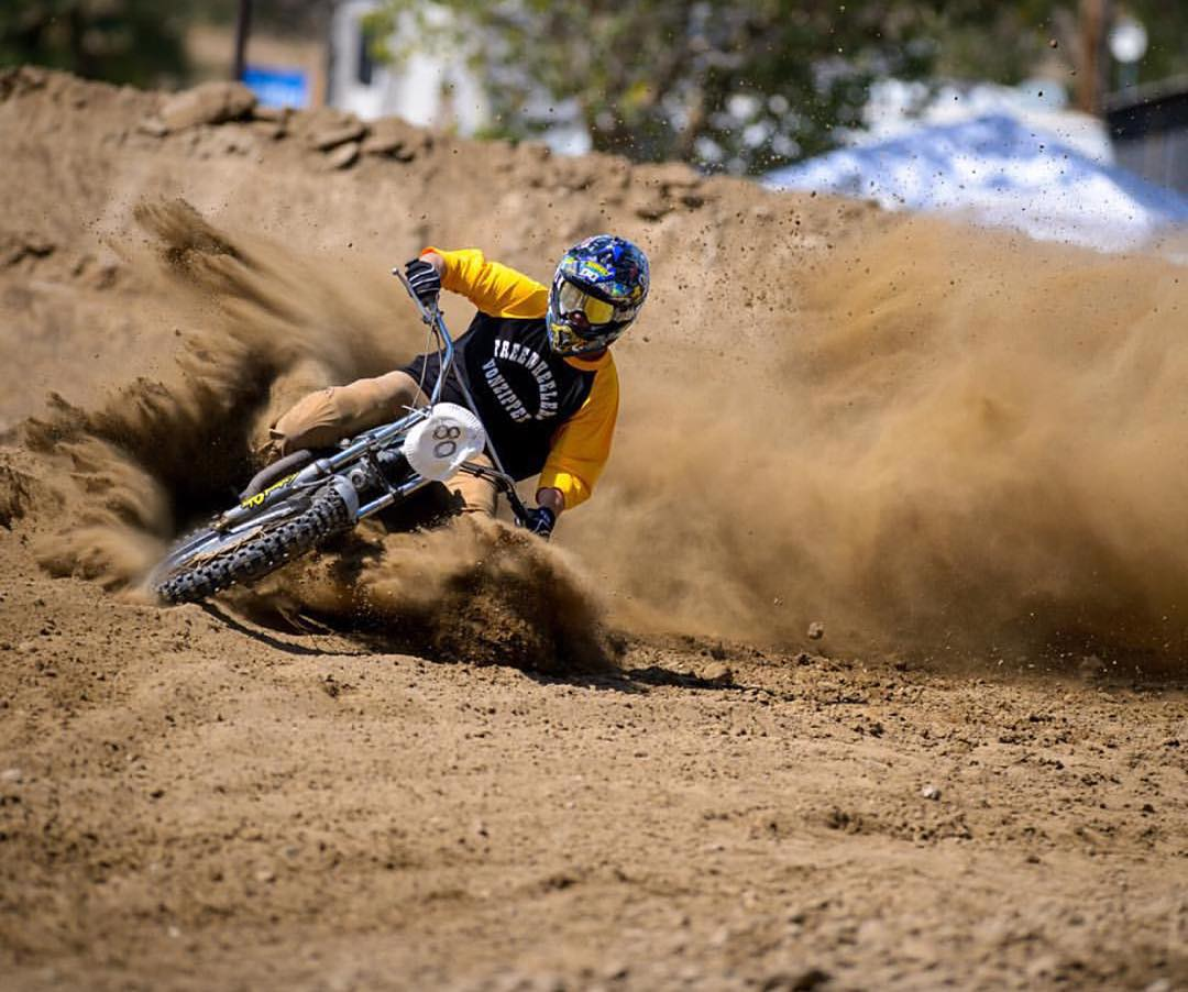 "Rev yer engines ya little grease monkeys! @redbull Day In The Dirt is coming to @glenhelenraceway Nov 27th and we are running the @hellonwheelsmc ""Run What You Brung"" which pretty much throws all the rules out the window and replaces it with going fast..."