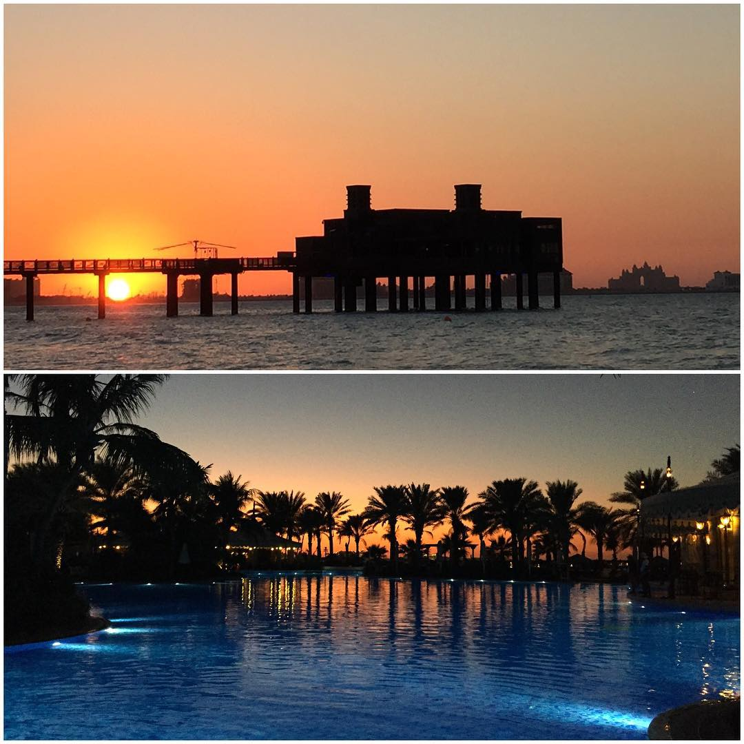 Sunset shots I snapped earlier this week here in Dubai. Epic. It's snowing at my home in Utah, but I am still enjoying the beach and pool here with my wife and kids! I do have to go back home someday… this definitely works for me right now, though....