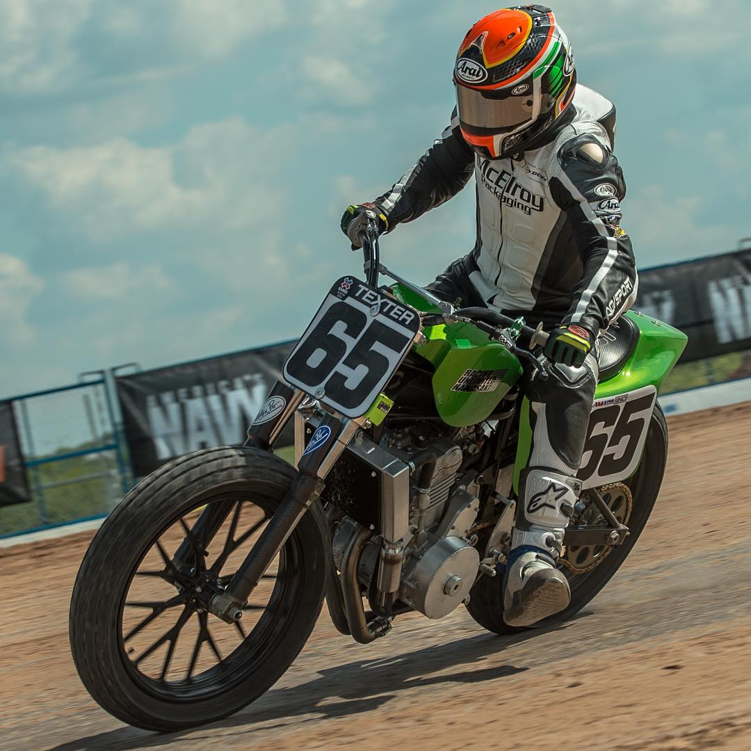 """Flat Track is America's original extreme sport.  There is a long history when it comes to turning left and going fast.""-@CoryTexter to Sports Illustrated ("