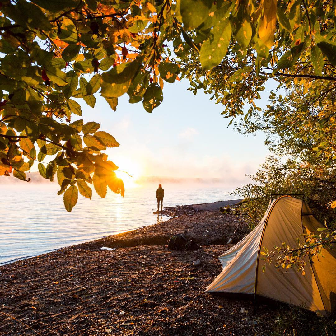 "Rise and shine: ""Waking up to a crisp fall morning in Northern British Columbia, Canada."" -@taylormichaelburk"