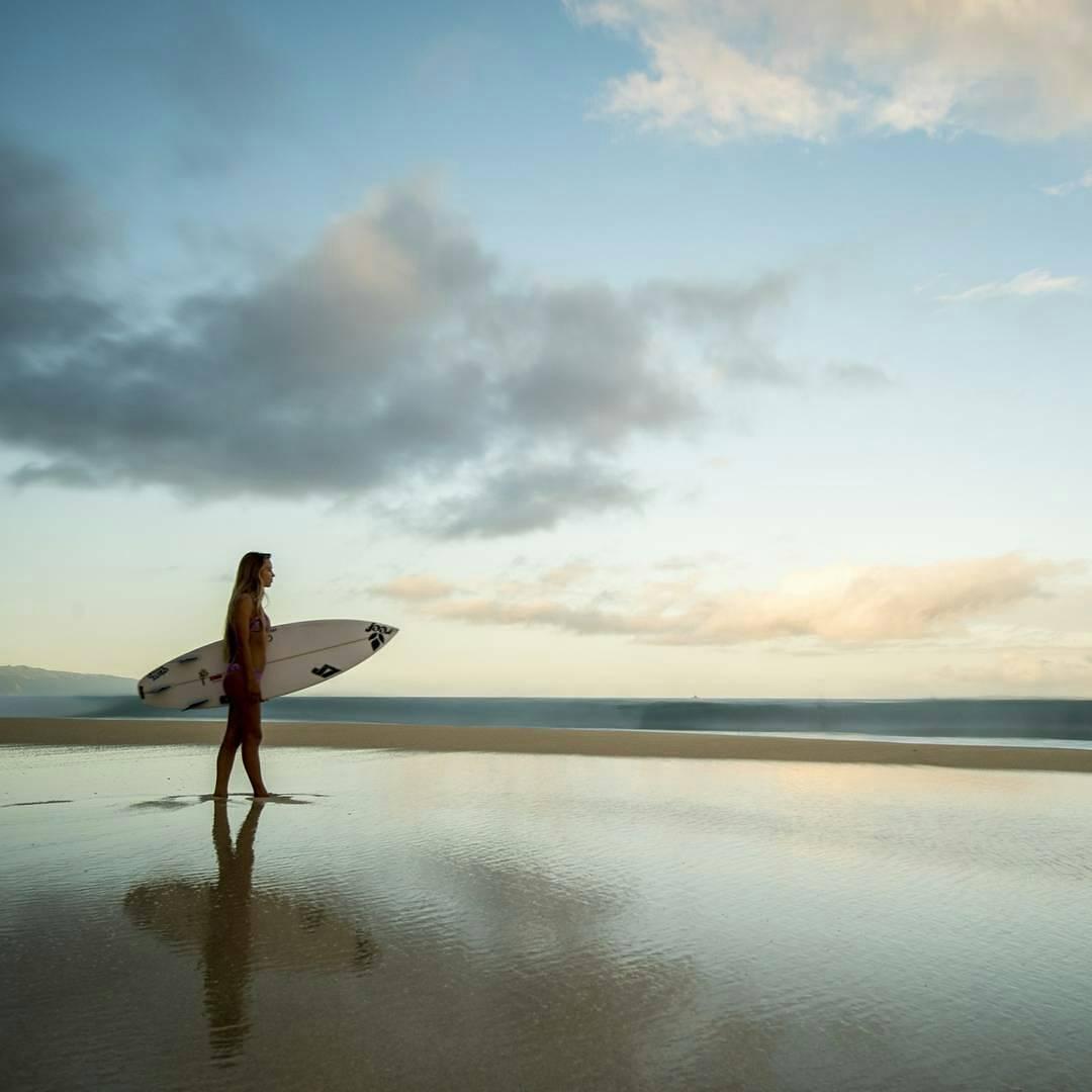 @tiablanco nunca está lejos de la playa ✌