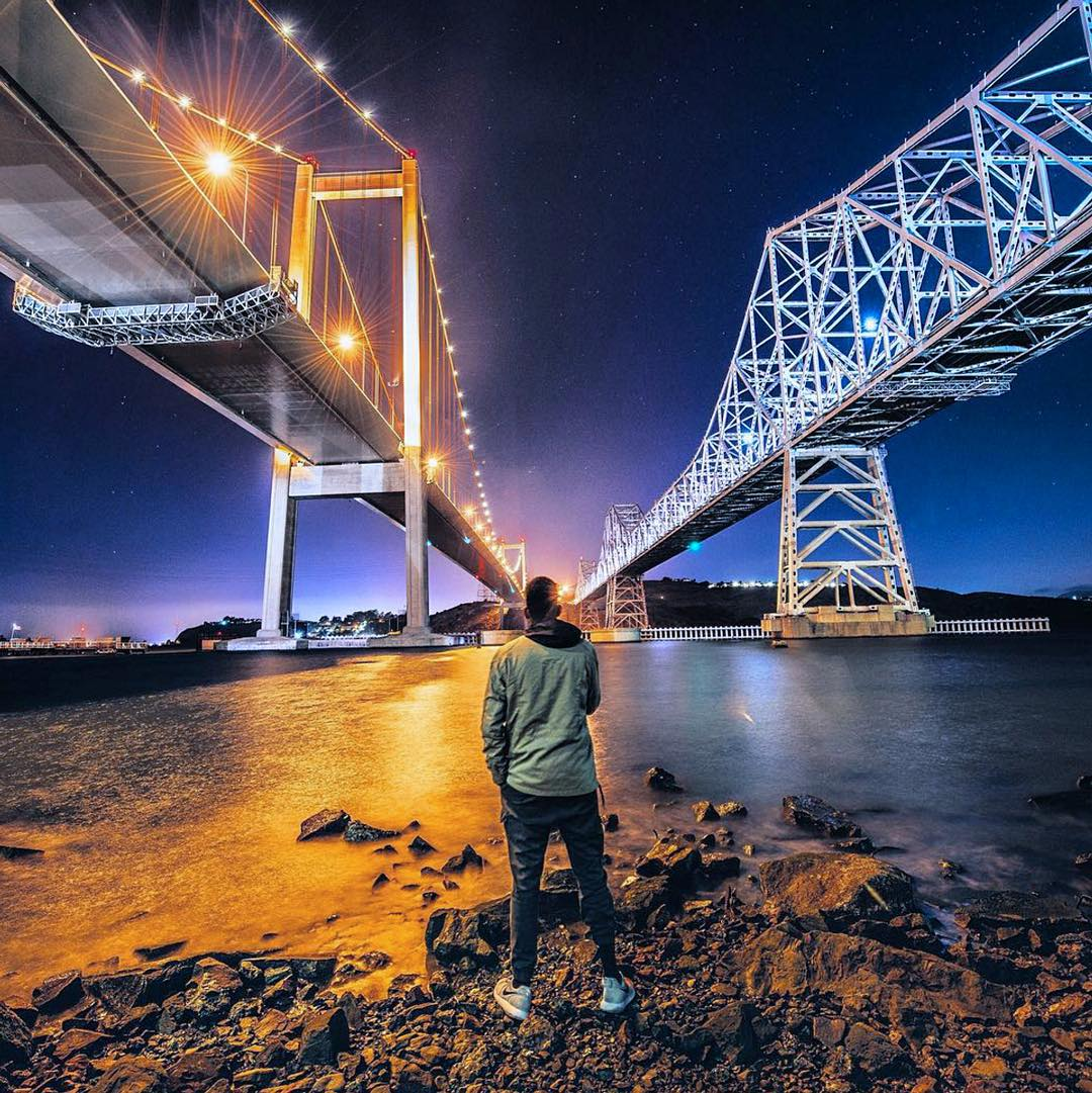 Bridge that gap by @sbdunkscarl #sf #bayarea