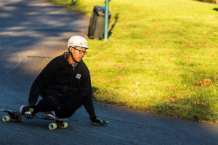 Team rider Paul Song (@revonrev) traveled down from British Columbia and killed it in unfamiliar territory at Washington Triplecrown of Longboarding today. Thanks to @duckpucks #oheftv @omenlongboards @subsonicskateboards and @motionboardshop for...