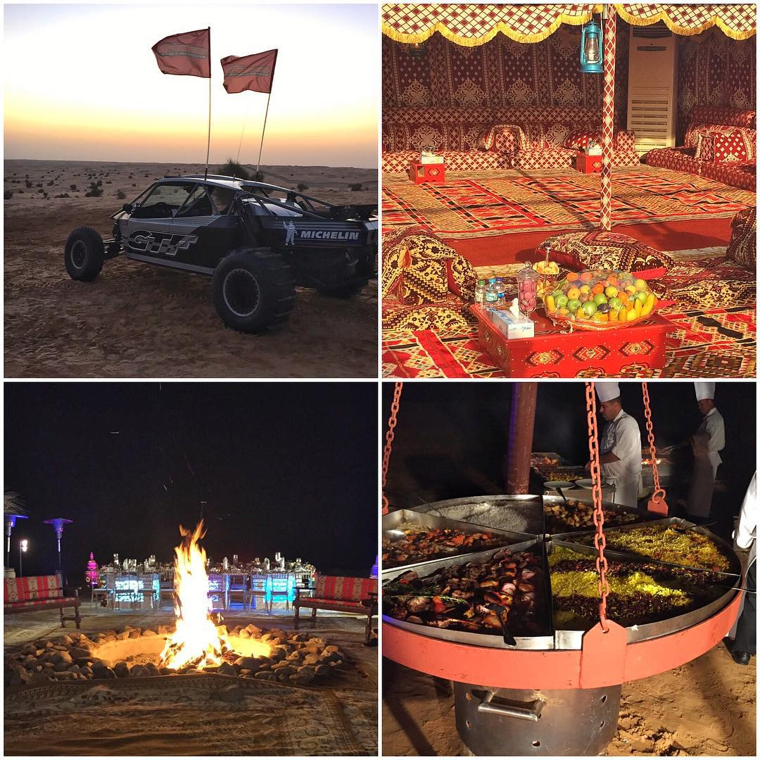 A few snaps from the epic setting that @XDubai setup in the desert for my birthday celebration this evening. So much fun, so much food, so little time. #epiceventwasepic #Dubai
