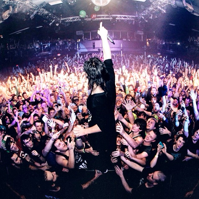 'We finally found a place that feels like home.' @skrillex #musicislife