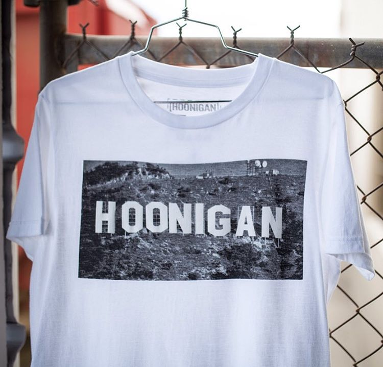 The Hooniganland tee may or may not be a render for an actual project in Los Angeles. You'll have to wait and see but for now you can grab one ONLY AT @tillys. #callourbluff