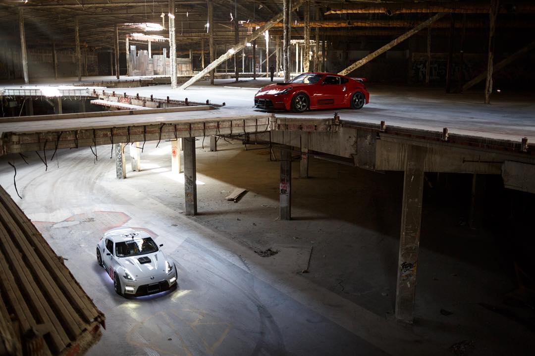 Watch @chrisforsberg64 and @ryantuerck create some hellish noises as they shred through this abandoned mall for #hooniganblackfriday. See the video on Tuesday!