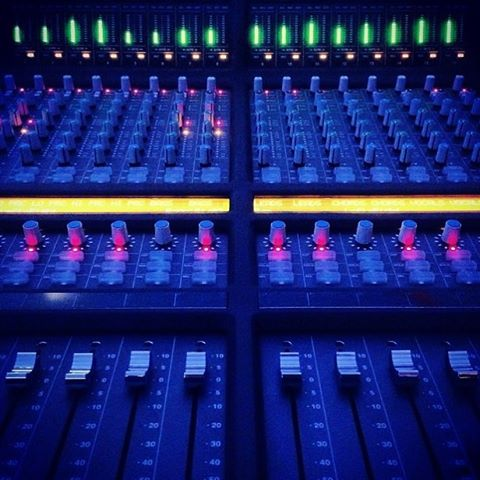 Sunday's are perfect for studio sessions.  #analog #studiolife #soundofthebrave