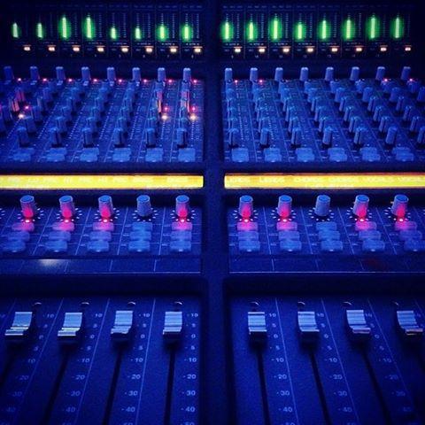 Sunday's are perfect for studio sessions.  #analog #studiolife #soundofthebrave