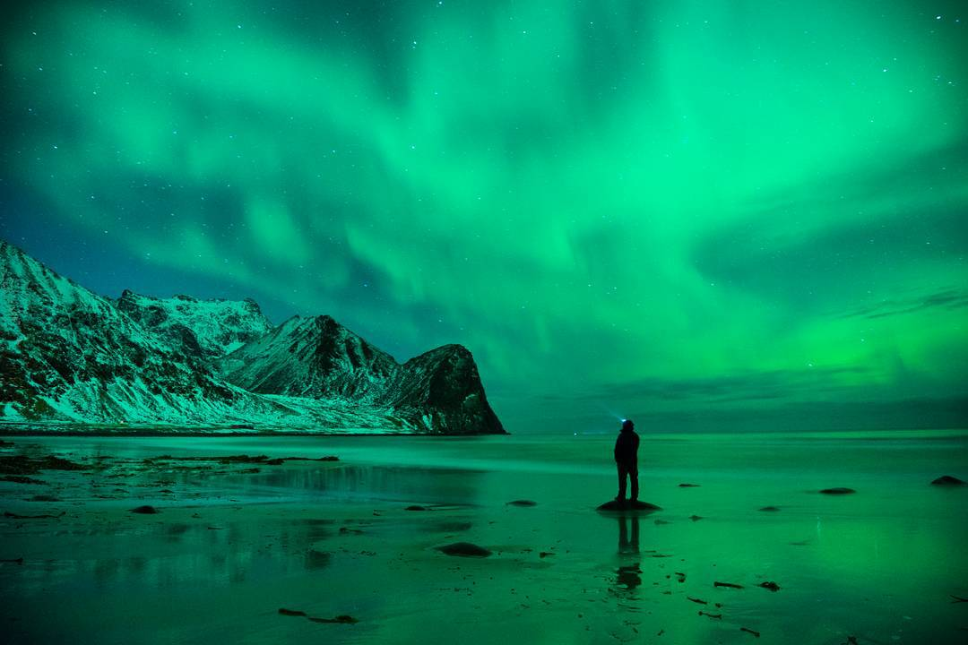 Cold nights and the northern lights. #getoutstayout  Photo: @chrisburkard