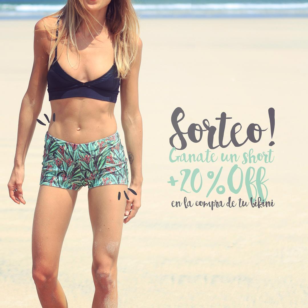 ⚡️⚡️SORTEO⚡️⚡️ Ganate un short + 20% OFF en la compra de una bikini Cómo? - Seguinos en Instagram - Poné like en la foto - Nombrá 3 amigas **Anunciamos la ganadora este viernes** #katwai #swimwear #summer