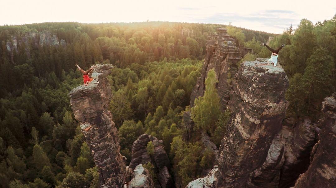 German filmmaker Sebastian Linda (@seblinda) sent us this incredible shot from his latest film, Life is a Dance (bit.ly/LifeIsADance)  Shot with a #DJI #Phantom2 #IamDJI
