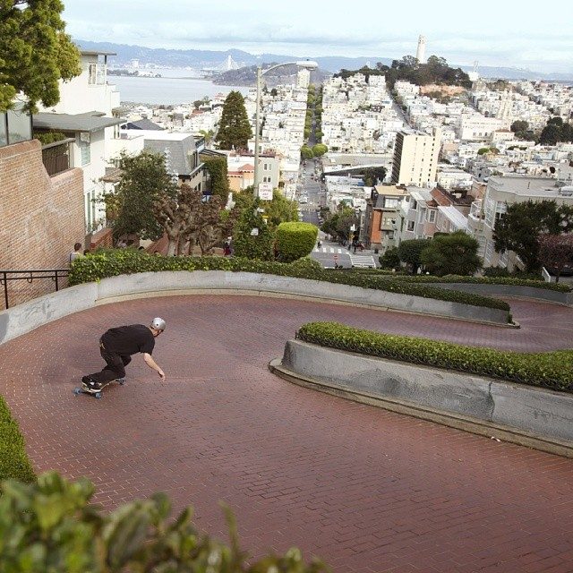 Check out team rider @therealmycopy mobbin #lombard
