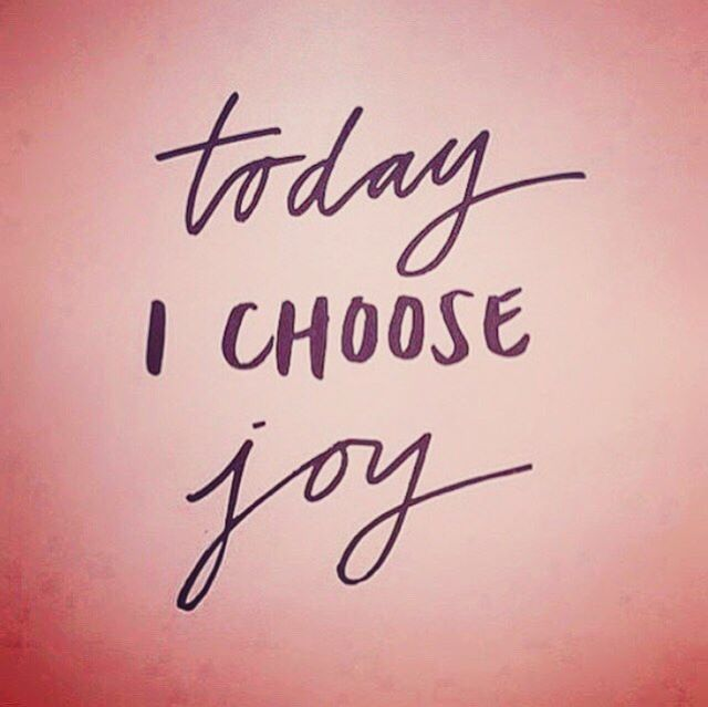 #mondaymantra #choosejoy #joy