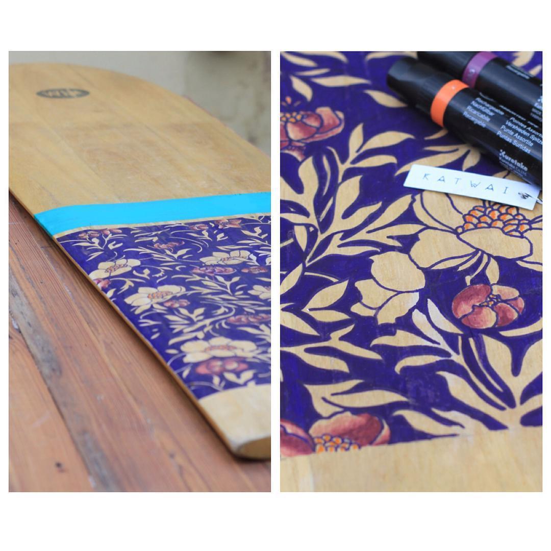 •HAND DRAWN PATTERN• Alaia Art Work #katwai #flawel #pattern #boardsandart #MadeWithLove @catusilva