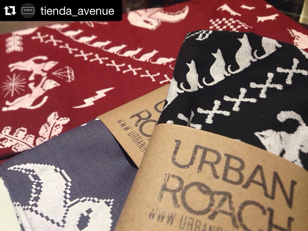 #Repost @tienda_avenue with @repostapp. ・・・ Bandanas personalizadas en tamaño grande Urban Roach #women #men #ahora12 #belgrano #fashion #design #clothshop  Varios colores disponibles