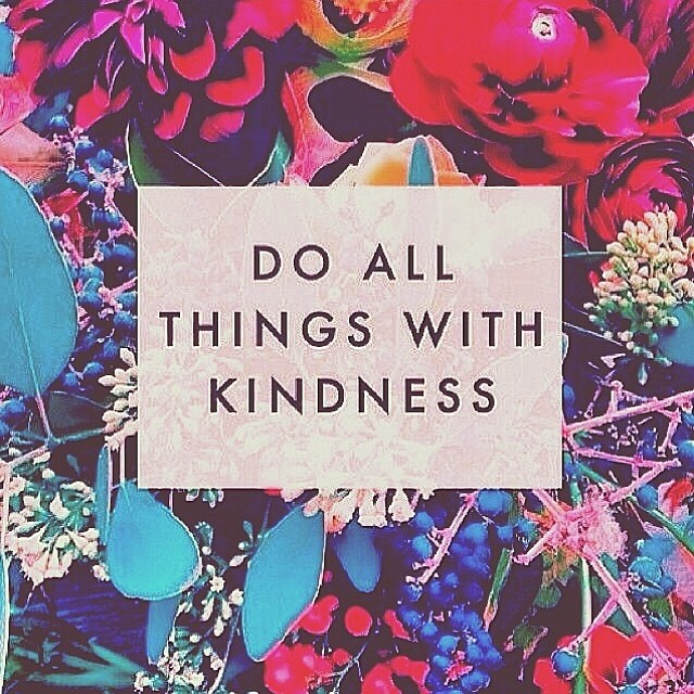 #Monday #pinspiration! Kindness rocks.