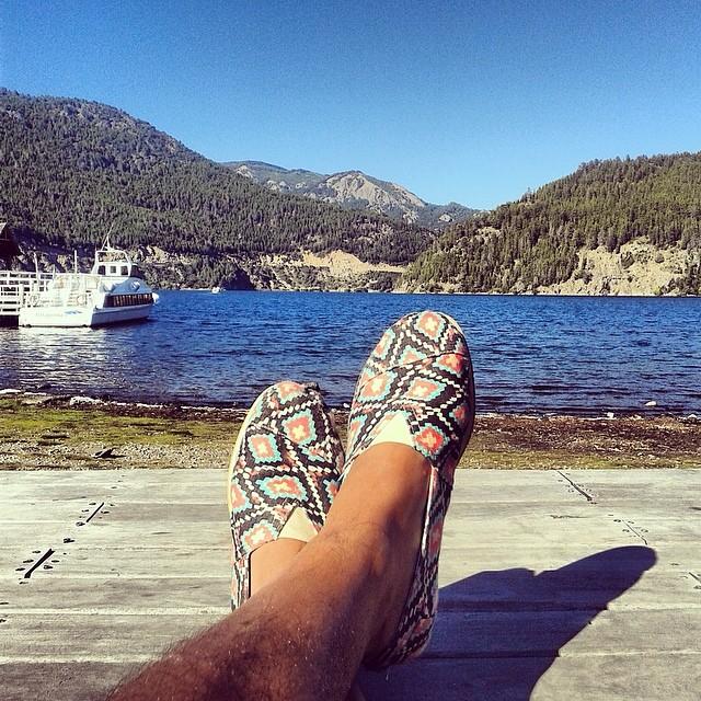 #PaezOnTheRoad San Martín de los Andes - Lago Lacar #Paez #sight #lake #lago #sur #sanmartin #chackana