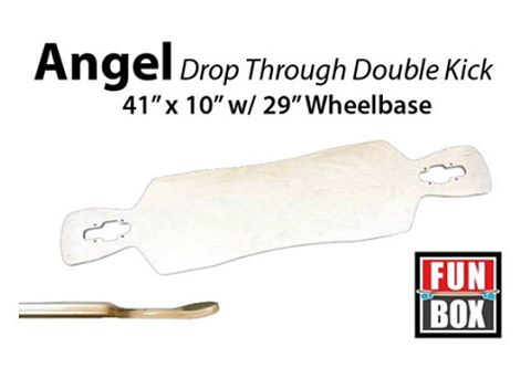 "Coming back soon #angel 41"" #dropthrough #double #kick #longboard #skateboard #skatelife #skateshop #skateboarding #freeride #concretewave #downhill #carve #cruise"