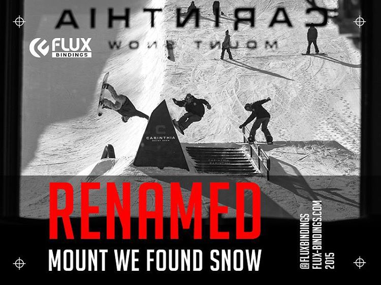 Click the link in our profile to watch Ian Sams @IanSams Steve Lauder @stevelauder, Lucas Mohr @_lukemohr, Zach Wilmot @zackwilmot and Shaun Murphy @shaunmurphy413 in the fourth episode in the #FluxReNamed series - Mount We Found Snow. @carinthiaparks....