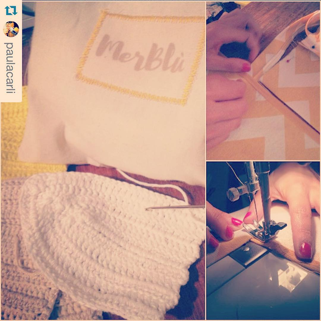 #Repost @paulacarli with @repostapp. ・・・ Se viene #MerBlù !!!! #verano #lonitas #bikinis #croptops #crochet