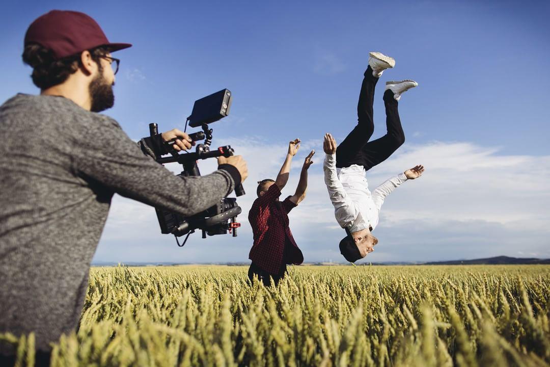When life is a meadow, you do backflips.  Credit: Erik Gross  Full video by Sebastian Linda (@seblinda): bit.ly/LifeIsADance  #IamDJI #DJI #RoninM