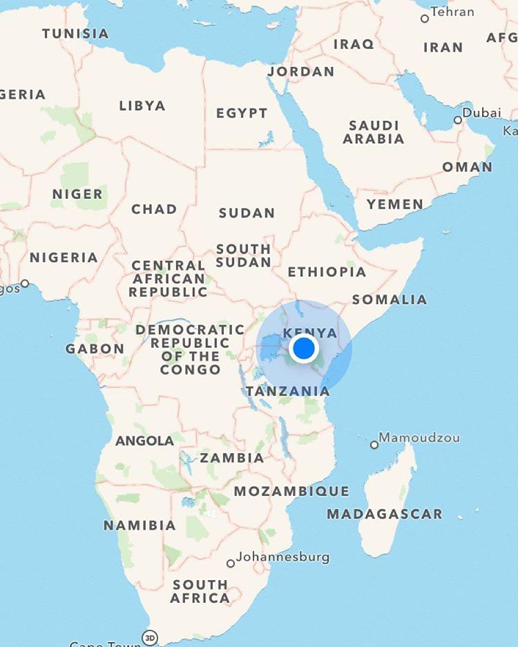 Hello from Kenya.