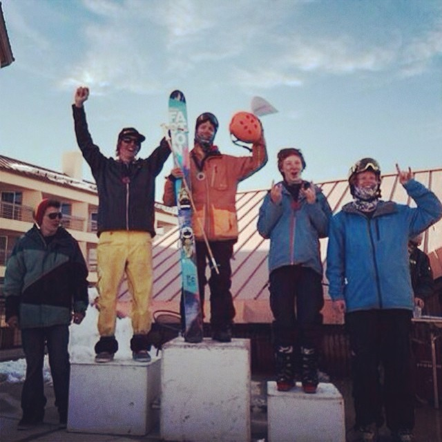 Congratulations @3rikhilb on the win this last weekend at @skicrestedbutte!  #plantyoursoul