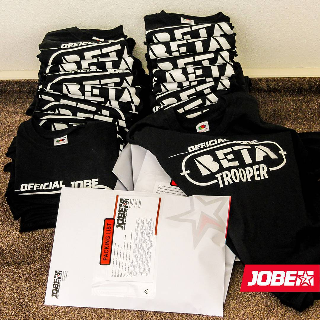 We are arming some of our Beta Troopers with these cool ''official Beta Trooper'' t-shirts! Look out for your mail as you might get your hands on one of these early Christmas presents!