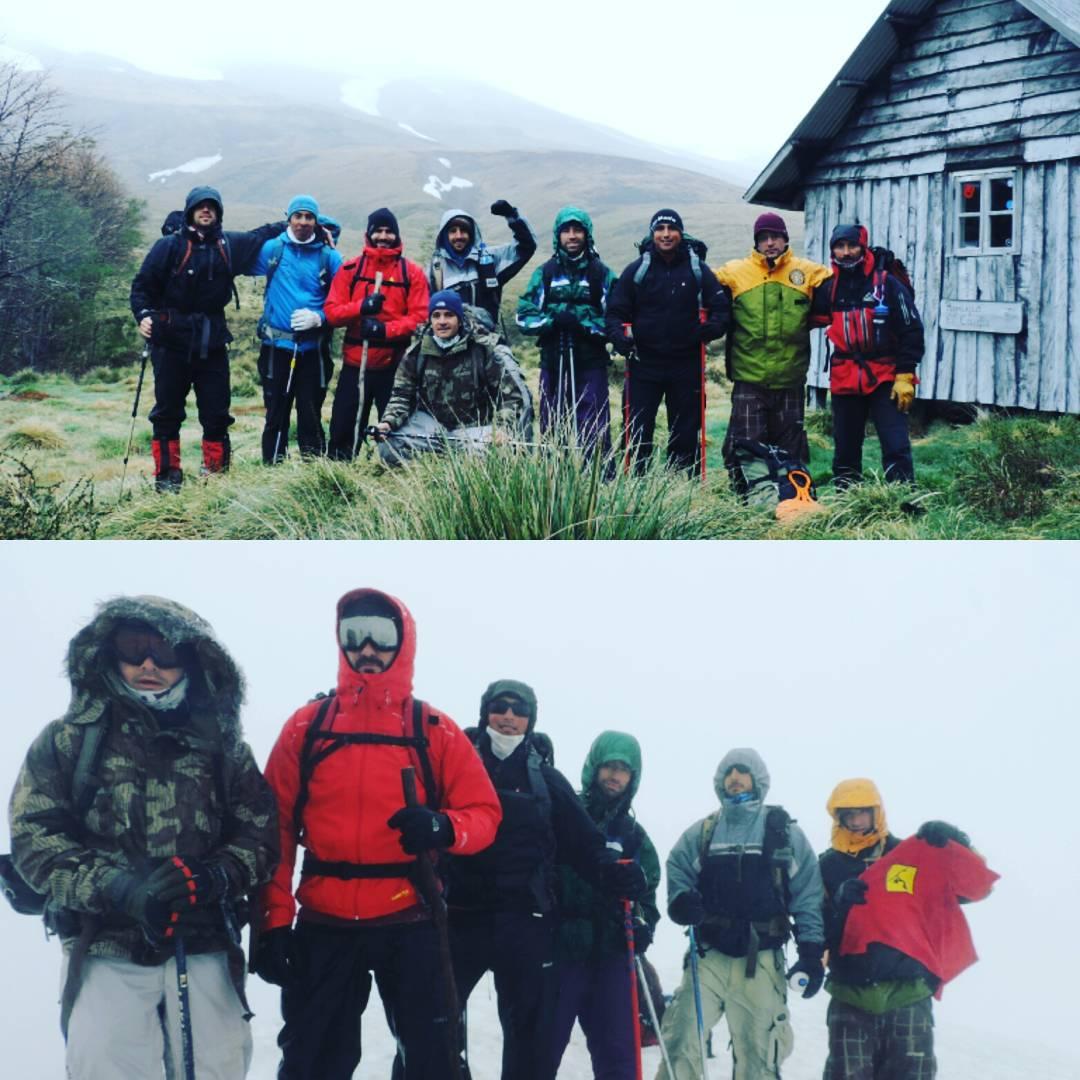 Amigos MAE x el Mundo.  Fran Villegas y amigos en Volcán Puyehue. #maetuanis #followthesun #volcan #puyehue #chile