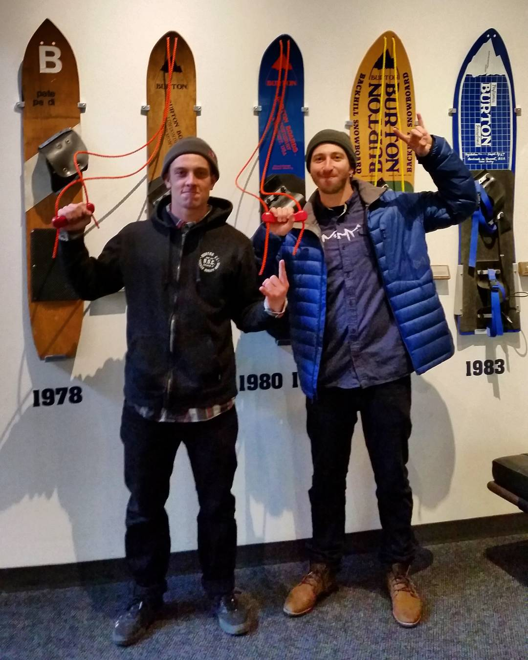 We have arrived at Burton HQ in Burlington, Vt., to check out the making of the board that @Ben_Ferguson will ride at #XGames Aspen!  Check out @JackMitrani's Snapchat takeover