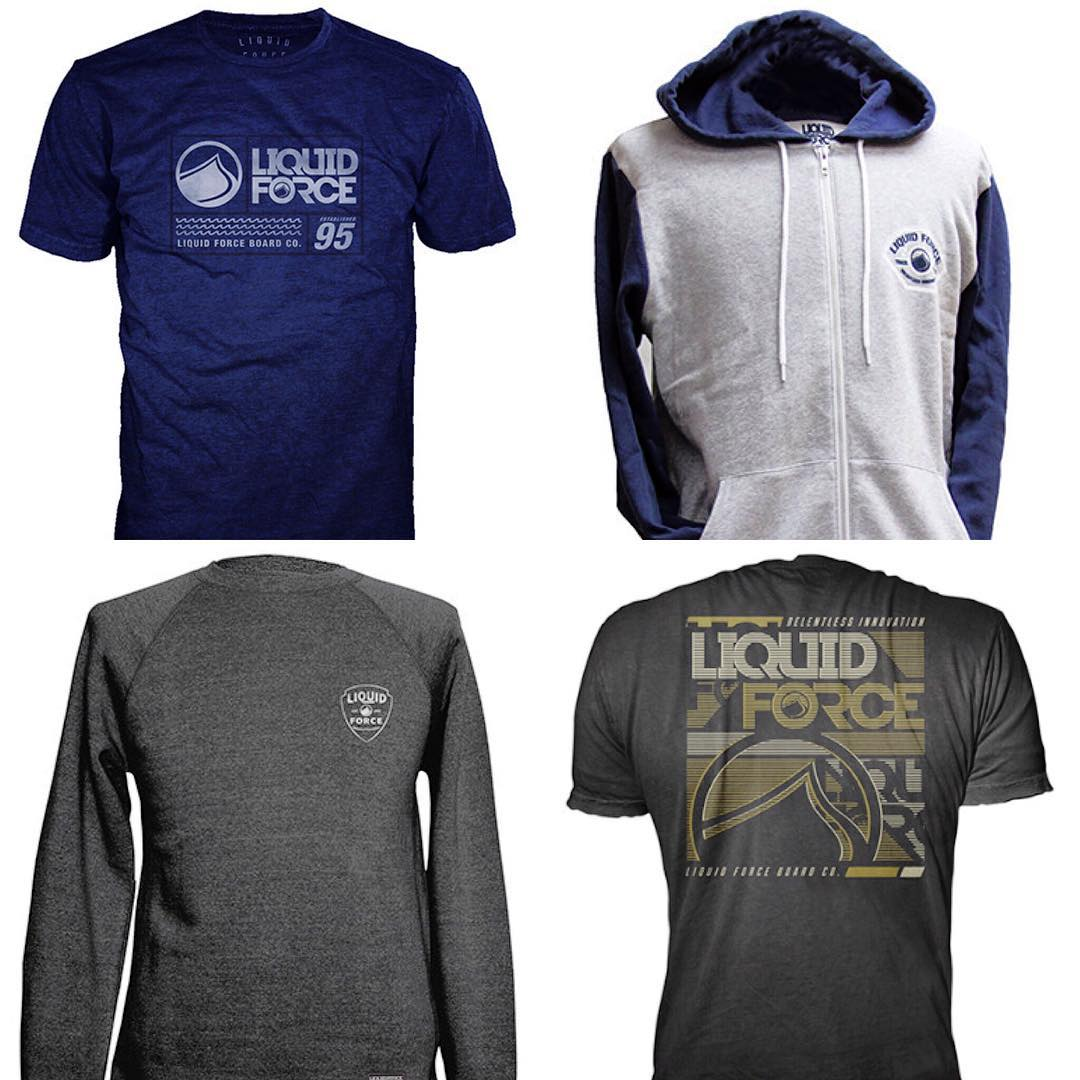 Fresh LF Fleece and Tee's now in stock.  Head to your local LF dealer or liquidforceapparel.com to what's new. #LiquidForceApparel #newnew