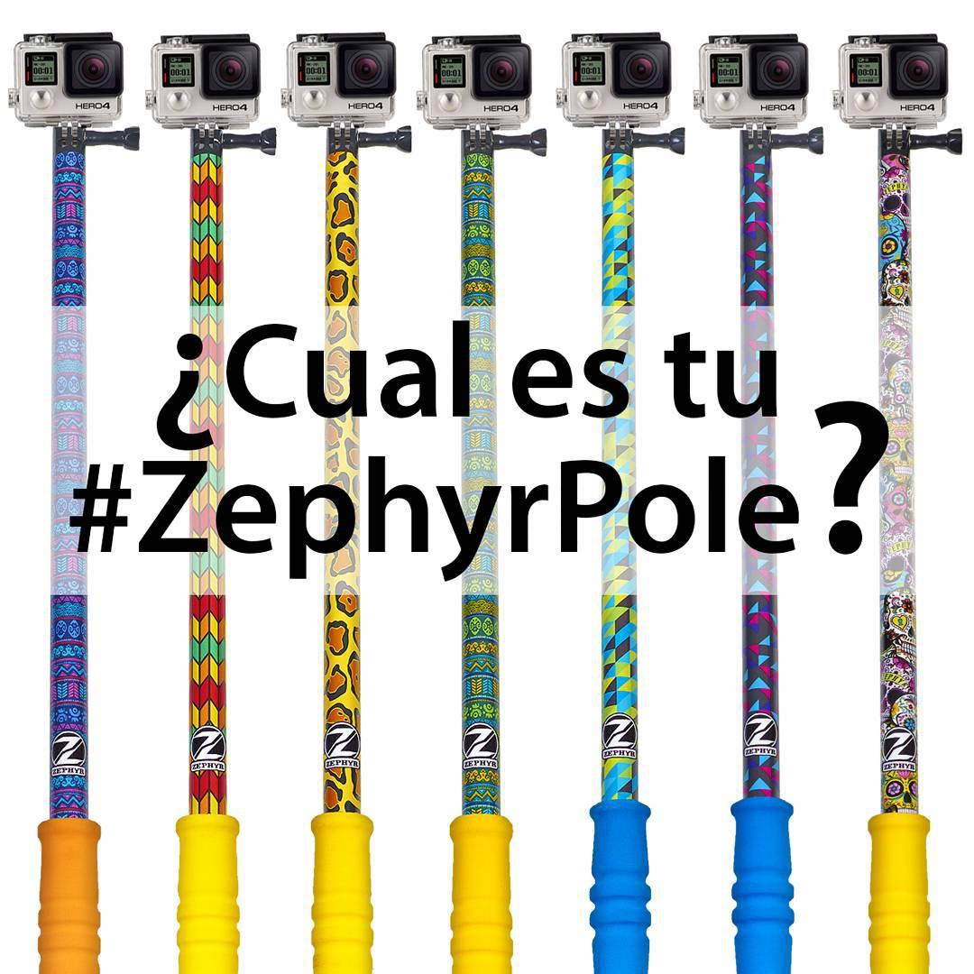 Ingresa a nuestro #ShopOnline y llevate el #ZephyrPole que más te guste! -