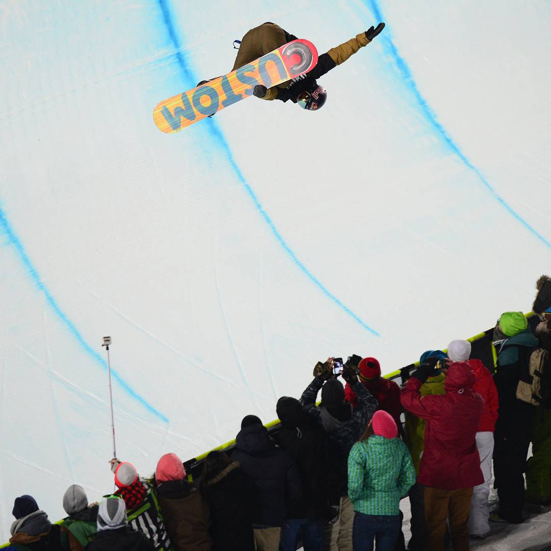 """A SuperPipe is a blank canvas.  You can do anything that you want.  That is the beauty of snowboarding!""-@Ben_Ferguson"